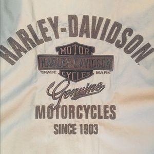 Men's 2XL Harley Davidson button up shirt